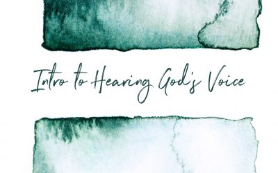 Introduction to Hearing God's Voice